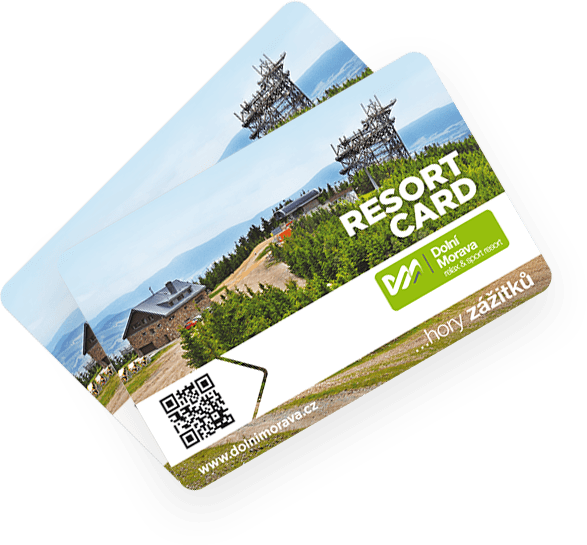 Your Resort Card opens all door in the resort for you