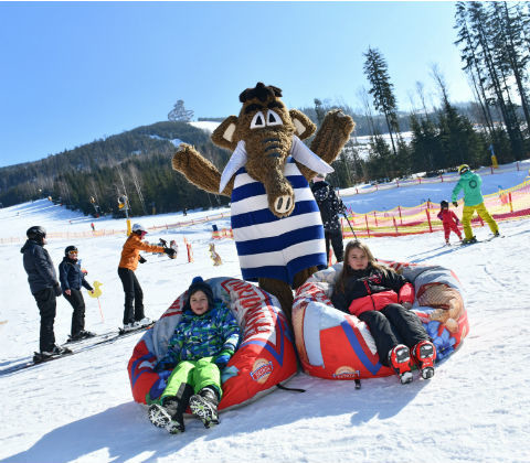 Ski parks for children